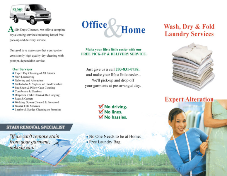Six Days Cleaners Services